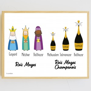 Poster Rois Mages Champenois